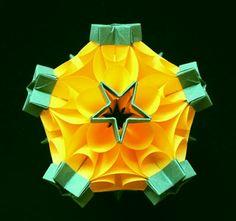 Origami Maniacs: Bubble Drop Kusudama by Miyuki Kawamura