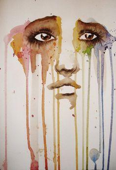 So sad ~ Street Art Art Et Illustration, Illustrations, Street Art, Wow Art, Pics Art, Traditional Art, Amazing Art, Awesome, Painting & Drawing