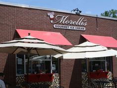 From the caramelized peach ice cream made with real peaches to the cinnamon toast sundae, the treats... - Morelli's Ice Cream