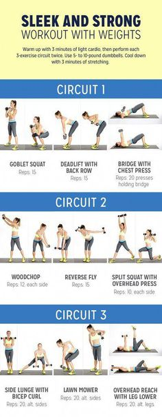 This Full-Body Circuit Workout Will Help You Build Muscle and Boost Your Metabolism
