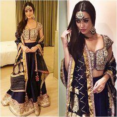 Indian Wardrobe is your ultimate destination for Fashionable ethnic women's clothes like Sarees, Salwar Kameez, Lehenga Sarees and Choli, Kurtis, Tunics and Salwar Suits. Anarkali Dress, Anarkali Suits, Pakistani Dresses, Lehenga Choli, Indian Sarees, Indian Dresses, Sari, Anarkali Churidar, Blue Lehenga