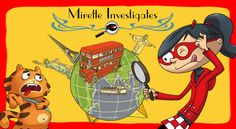 Mirette Investigates- The first travelling detective comedy !