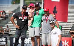 CrossFit Games Regional NorCal   Jason Khalipa 1 & 2&3rd is Gabe Subry from cf209 Neal Maddox #crossfitgames