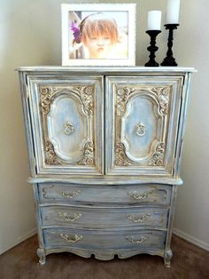 Romantic French Dresser