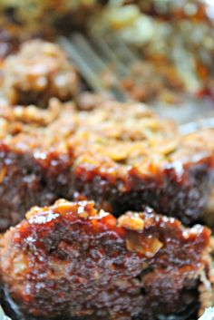 """"""" Cajun Meatloaf""""... Great recipe for a different look at meatloaf. Note: Don't forget to remove the Bay Leaf! Pretty sure it wouldn't taste too good if you bit into it while eating this tasty treat."""