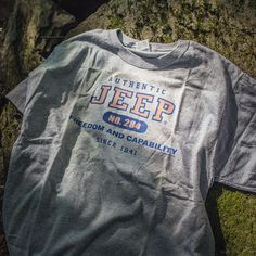 """The Jeep Brand is legendary and our Authentic Jeep T Shirt is a great way to carry on the name with pride. Featuring a screenprinted """"Authentic Jeep, Freedom and Capability Since Logo. School Outfits, Girl Outfits, Cute Outfits, Fashion Outfits, Teen Fashion, Jeep Brand, Jeep Clothing, Vineyard Vines Women, Jeep Wrangler Rubicon"""