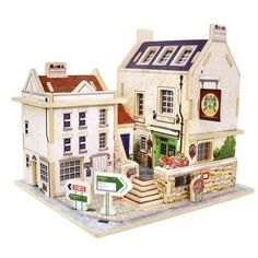 3D Puzzles New Assembly DIY Education Toy 3D Wooden Model Puzzles Happy House