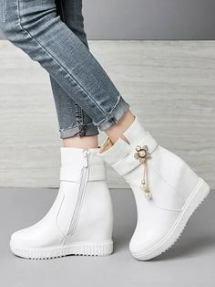 #Fall2021collection #Falloutfits #Fallcollection #FallWear #Autumnwear #fashionintrend #womenfashion #Expressyourself #autumncollection #auntumndress $134.00 $70.17 Wedge Boots, Wedge Heels, Shoe Boots, Ankle Boots, Shoes Heels, Cute Fall Outfits, New Outfits, Badass Style, Only Shoes