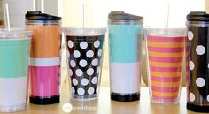 """Make Your Own """"Designer"""" Insulated Tumblers & Mugs - One Good Thing by Jillee"""