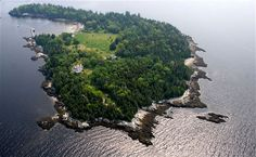 The world's most expensive private islands ~ Nautilus Island, Maine