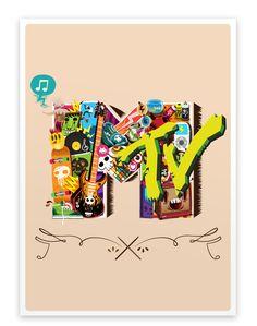 MTV  SONSINO | Ilustração, Design & Artes