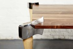 Playful Furniture Design Supported by Unusual Table Legs