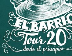 "Check out new work on my @Behance portfolio: ""El Barrio, Tour 20 , Desde el Principio."" http://be.net/gallery/36878707/El-Barrio-Tour-20-Desde-el-Principio"
