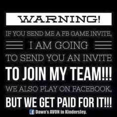 Join my AVON Team for ONLY $10! So many great products now available and special incentives for New Representatives! APPLY NOW! Message me or join my group today for more information.... https://www.facebook.com/groups/494959917352151/ Not interested in Selling- I can ship anywhere in Canada!