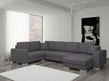 Couch Couchgarnitur Sofa Polsterecke MC 11 U Wohnlandschaft Schlaffunktion