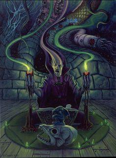 Un sacerdote de Cthulhu por nightserpent