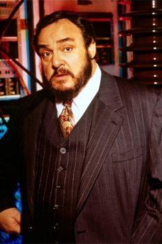 "John Rhys-Davies as Prof. Maximillian Arturo on Sliders. ""Where's the timer, Quinn! YOU had it last!"""