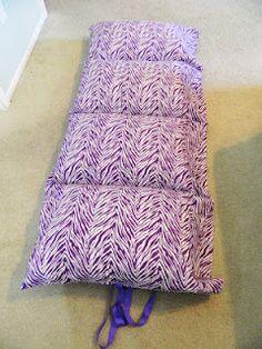 pillowcase sleep-mats - simple...use pillow cases