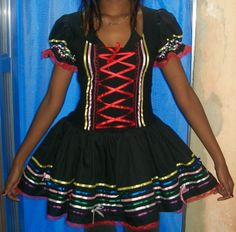 caipira Kawaii Fashion, Short Sleeve Dresses, Skirts, Clothes, Redneck Costume, Hillbilly Costume, Costumes, Suits, Tangled Rapunzel