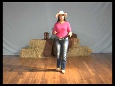 Learn how to line dance - The Electric Slide line dance instruction - YouTube