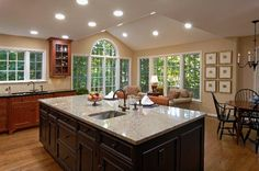 Kitchen Remodel, Daniels Design and Remodeling, light cabinets ... on zillow kitchen remodels, zillow great mediterranean kitchen, zillow small kitchens, traditional home magazine kitchens, zillow homes with pools, zillow design, traditional home great kitchens,