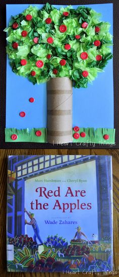 Cute idea for Johnny Appleseed unit.