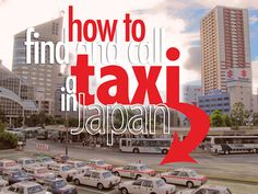 How to find and call a taxi in #Japan