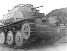 A Aufklarungspanzer 38t fast recon armored tank.