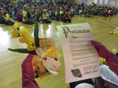 Every School Lunch Hero in Bowling Green, OH received a proclamation from the mayor, along with a Spork figure and a signed Lunch Lady book!