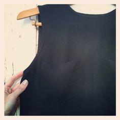 Vintage 90s Black Tunic Drape Sleeveless Rayon Blouse by by OKBOMB, $10.00 Black Tunic, Blouse, Stuff To Buy, Vintage, Women, Fashion, Blouse Band, Moda, Women's