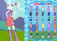 JuegosMyLittlePony.es - Juego: Vestir Coco Pommel - Jugar Online Gratis