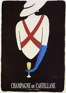 Publicité Alcool Rétro  - Champagne de Castellane