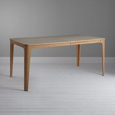 Buy John Lewis Mira Ceramic Top Oak Dining Table Online at johnlewis.com