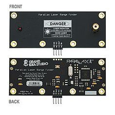 Laser Sensors for Robotic Applications - Smashing Robotics Diy Electronics, Electronics Projects, Robot Applications, Printed Circuit Board, Smart Home Automation, List, Stores, Arduino, Cnd