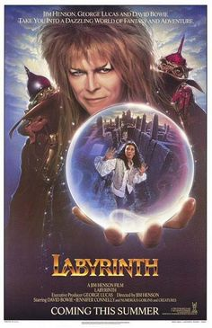 Labyrinth - Dove tutto è possibile - Un film di Jim Henson. Con David Bowie, Jennifer Connelly, Toby Froud, Frank Oz, Steve Whitmire. Titolo originale Labyrinth. Fantastico, Ratings: Kids+13, durata 101' min. - Gran Bretagna 1986.