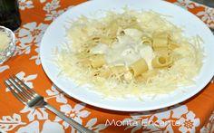 Pasta ao molho gorgonzola e limone...