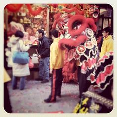The Lunar New Year. Chinatown. NYC. Jan 2012.