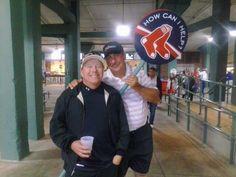 Steve Pindiak and I at Fenway 5/14.