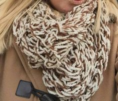 Infinity scarf by afghansandmore1 on Etsy