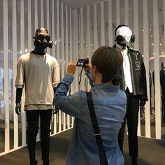 "BTS's Jimin taking photos in their exhibition ""Five, Always Park Ji Min, Jin Park, K Wallpaper, Bulletproof Boy Scouts, Bts Pictures, Photos, Busan, Boyfriend Material, Bts Jimin"