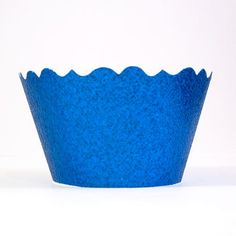 Glitter Royal Blue Cupcake Wrappers  Includes 12 by mrssterlings, $9.99