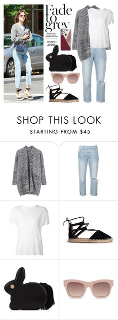 """""""Alexa."""" by minni15 ❤ liked on Polyvore featuring Levi's, R13, Aquazzura, Hillier Bartley, STELLA McCARTNEY and Casetify"""