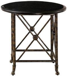 Elliot Side End Table, BLACK GRANITE, ANTIQUE GOLD by Home Decorators Collection, http://www.amazon.com/dp/B004O2MKZS/ref=cm_sw_r_pi_dp_4Orsqb0PNFXEG