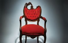 Who would want an asymetrical chair?  I would give you a home, I like that you are unpredictable.
