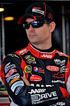 Jeff Gordon #24 Drive To End Hunger Big Sponsor Cap - Get the hat like Jeff Gordon wears at the race track! $21.99