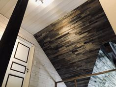 Admonter CUBE: Natural wood panels with a multi-dimensional effect. Wood Paneling, Natural Wood, Cube, Stairs, Grey, Nature, Wall Cladding, Wood, Ideas
