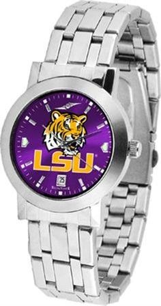 LSU Dynasty Men's Anonized Watch SunTime. $80.95. Stainless Steel Case. Scratch Resist Face. Date Display