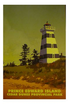 """Prince Edward Island travel sticker """"It is not the destination where you end up but the mishaps and memories you create along the way."""" – Penelope Riley prince,edward,island,cedar,dunes,provincial,park,canada,kanada, Prince Edward Island, All Poster, Poster Wall, Tourism Poster, Parks Canada, Retro Summer, Retro Color, Vintage Travel Posters, Historical Photos"""
