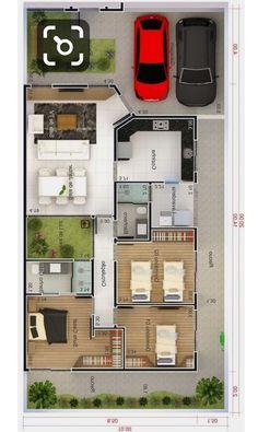 30x40 House Plans, Sims House Plans, House Layout Plans, Dream House Plans, Small House Plans, House Layouts, House Floor Plans, Home Design Floor Plans, Home Building Design