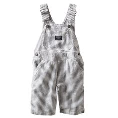 Seersucker Shortalls | OshKosh B'gosh